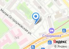 Компания «Участковый пункт полиции район Сокольники» на карте