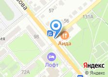 Компания «Аида» на карте