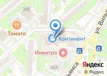 Компания «GSM контакт» на карте