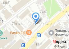 Компания «Москомбанк» на карте