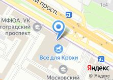 Компания «Московский архитектурно-строительный институт» на карте