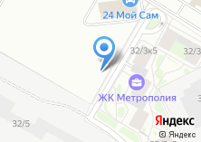 Компания «МТА-Сервис» на карте