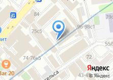 Компания «Гипростройматериалы» на карте