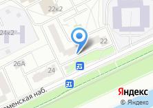 Компания «ОДС Инженерная служба района Нагатинский Затон» на карте