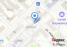 Компания «ДЕЗ Басманный район» на карте