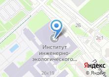 Компания «Московский государственный строительный университет» на карте