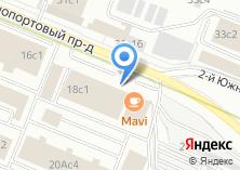 Компания «Магазин хлебобулочных изделий на Южнопортовом 2-м проезде» на карте
