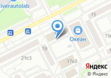 Компания «Бытхимторг» на карте
