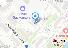 Компания «Констал» на карте