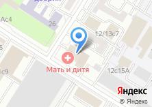 Компания «Строящееся административное здание по ул. Лефортовский Вал» на карте