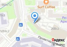 Компания «МТЕ» на карте