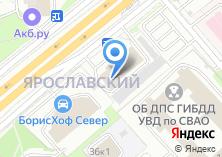 Компания «ТЕХ-ТРЕЙД» на карте