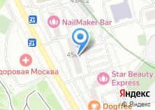 Компания «Территориальная избирательная комиссия района Орехово-Борисово Северное» на карте