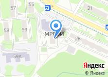 Компания «Московский региональный социально-экономический институт» на карте