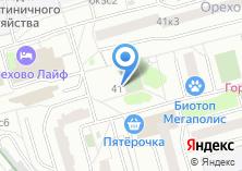 Компания «Магазин косметики и парфюмерии на Шипиловском проезде» на карте
