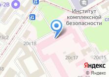 Компания «Психиатрическая больница №3 им. В.А. Гиляровского» на карте