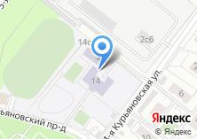 Компания «Средняя общеобразовательная школа №493» на карте