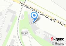 Компания «Мир оборудования» на карте