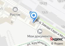 Компания «Лада Центр Авиамоторная» на карте