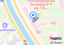 Компания «Городская клиническая психиатрическая больница №4 им. П.Б. Ганнушкина» на карте