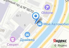Компания «ДРАЙВЕР» на карте