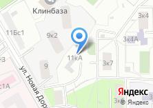 Компания «Флай» на карте
