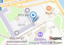 Компания «МГУПИ» на карте