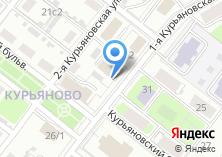 Компания «Спортивно-оздоровительный комплекс на Курьяновской» на карте
