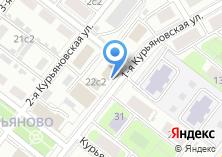 Компания «Минипекарня на Курьяновской 1-й» на карте