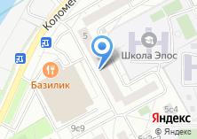 Компания «Нагатинский Затон» на карте