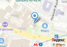 Компания «ИнтеграЛайн» на карте