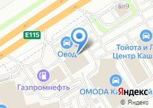 Компания «Овод» на карте