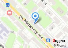 Компания «Магазин бытовой химии на ул. Металлургов» на карте