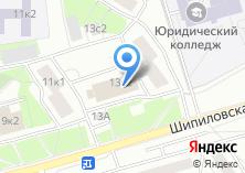 Компания «Почтовое отделение №115569» на карте