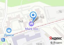 Компания «МНЮИ» на карте