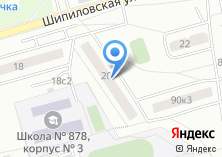 Компания «Участковый пункт полиции район Орехово-Борисово Северное» на карте