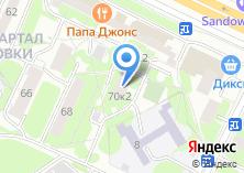 Компания «Мебеландо» на карте