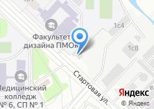 Компания «Шиномонтажная мастерская на Стартовой» на карте