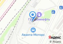 Компания «Аванта Моторс» на карте