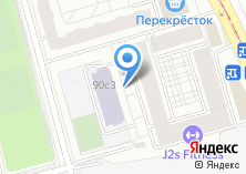 Компания «АВК Пресс» на карте