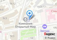 Компания «МИРТШБ Московский институт рекламы» на карте