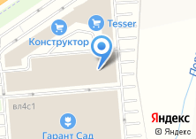 Компания «Всё в сад» на карте