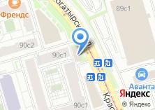 Компания «Автотехцентр на Краснобогатырской» на карте