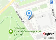 Компания «Алымова» на карте