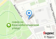 Компания «Алымова 3» на карте