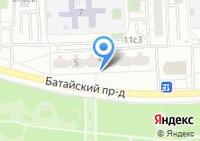 Компания «Лужки» на карте