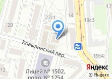 Компания «РАДОР» на карте
