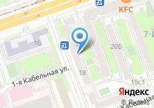 Компания «Лефортово» на карте