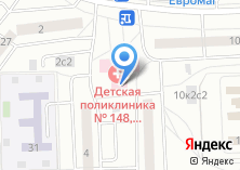 Компания «Детская поликлиника №112» на карте