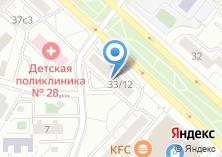 Компания «Почтовое отделение №107258» на карте
